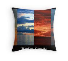 Henley Sunsets Throw Pillow
