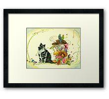 My Little Enchanted World Framed Print
