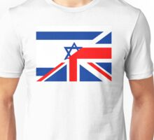 uk israel flag Unisex T-Shirt