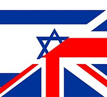 uk israel flag by tony4urban