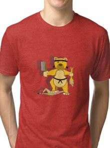Bears vs Dolls Tri-blend T-Shirt