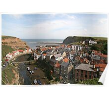 Staithes North Yorkshire Poster