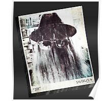 """Cousin Itt"" Old Polaroid  Poster"