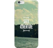 Seek Adventure iPhone Case/Skin