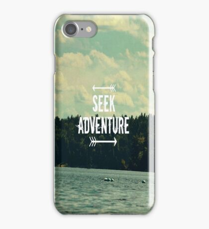 Seek Adventure iPhone Case/Skin