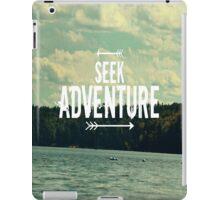 Seek Adventure iPad Case/Skin