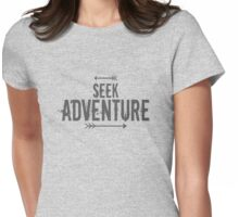 Seek Adventure Womens Fitted T-Shirt