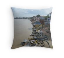 The Holy City Throw Pillow