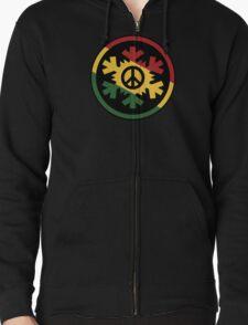 Ice Rasta Peace,Love,Music T-Shirt
