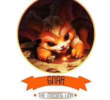 League Of Legends - Gnar by TheDrawingDuo