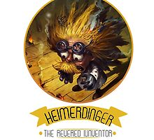 League Of Legends - Heimerdinger by TheDrawingDuo