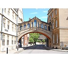 Bridge Of Sighs - Oxford Photographic Print
