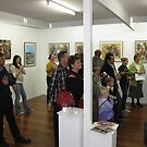 people at the circle gallery show by robyn nuttall