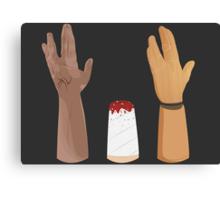 Hands-volution Canvas Print