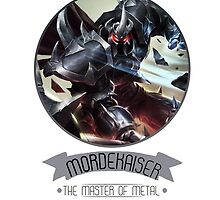 League Of Legends - Mordekaiser by TheDrawingDuo