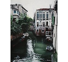 Venice Painting Photographic Print