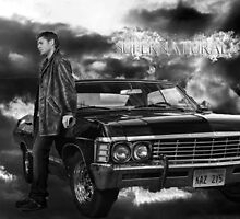 Dean Winchester, Chevy Impala by happylittlephan