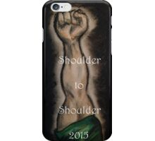 Ireland 6 Nations Rugby 2015 Shoulder to Shoulder iPhone Case/Skin