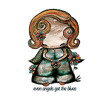 Even Angels Get the Blues Photographic Print