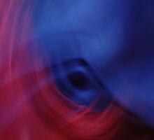 Centra blu by Verne Ivars Krastins