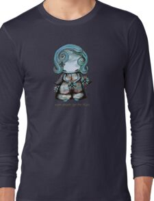 Even Angels Get the Blues in Blues (Sml Design) T-Shirt