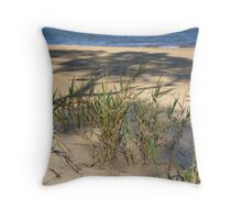 Grasses, Evening at Marlo. Throw Pillow