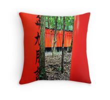 Fushimi Inari Shrine Throw Pillow