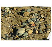 beach little stone Poster