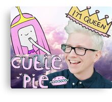 Tyler Oakley, Princess Bubblegum Canvas Print