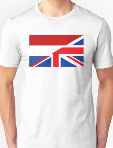 uk netherlands flag Unisex T-Shirt