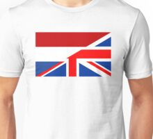 uk netherlands flag Unisex T-Shirt