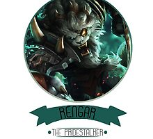 League Of Legends - Rengar by TheDrawingDuo