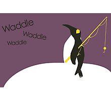 Waddle waddle waddle Photographic Print