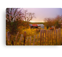 Once Upon A Time  - Hill End - The HDR Series Canvas Print