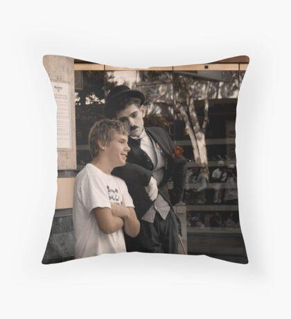Stick With Me, Kid Throw Pillow