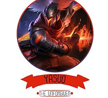 League Of Legends - Yasuo by TheDrawingDuo