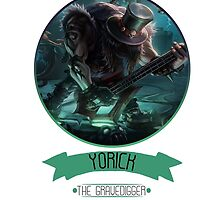 League Of Legends - Yorick by TheDrawingDuo
