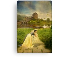 Once Upon A Time, Never Comes Again... Canvas Print