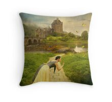 Once Upon A Time, Never Comes Again... Throw Pillow