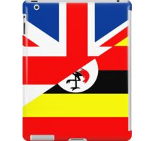 uganda uk flag iPad Case/Skin