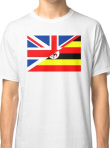 uganda uk flag Classic T-Shirt