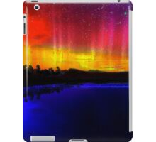 Sky Scape #1 - Beautiful Sun and Moon Reflective Landscape Design iPad Case/Skin