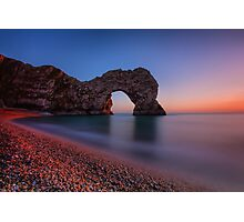 Sunset At Durdle Door Photographic Print