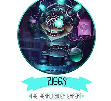 League Of Legends - Ziggs by TheDrawingDuo