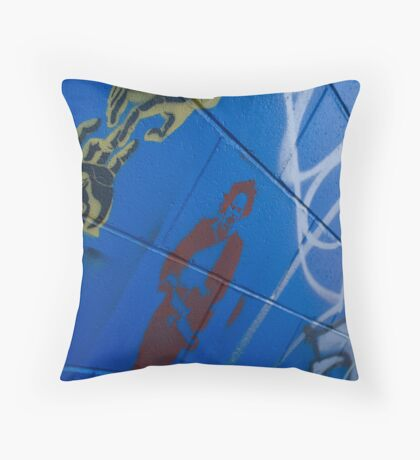 Coming to Get You Throw Pillow