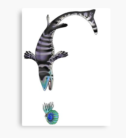 In Pursuit of Hardened Prey Canvas Print