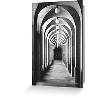 Old Arches Greeting Card