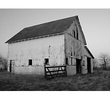 Old Barn at Sunset Photographic Print