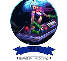 League Of Legends - Sona by TheDrawingDuo