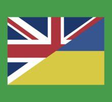ukraine uk flag One Piece - Short Sleeve